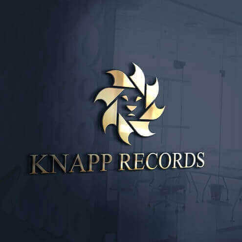 Knapp Records logo design