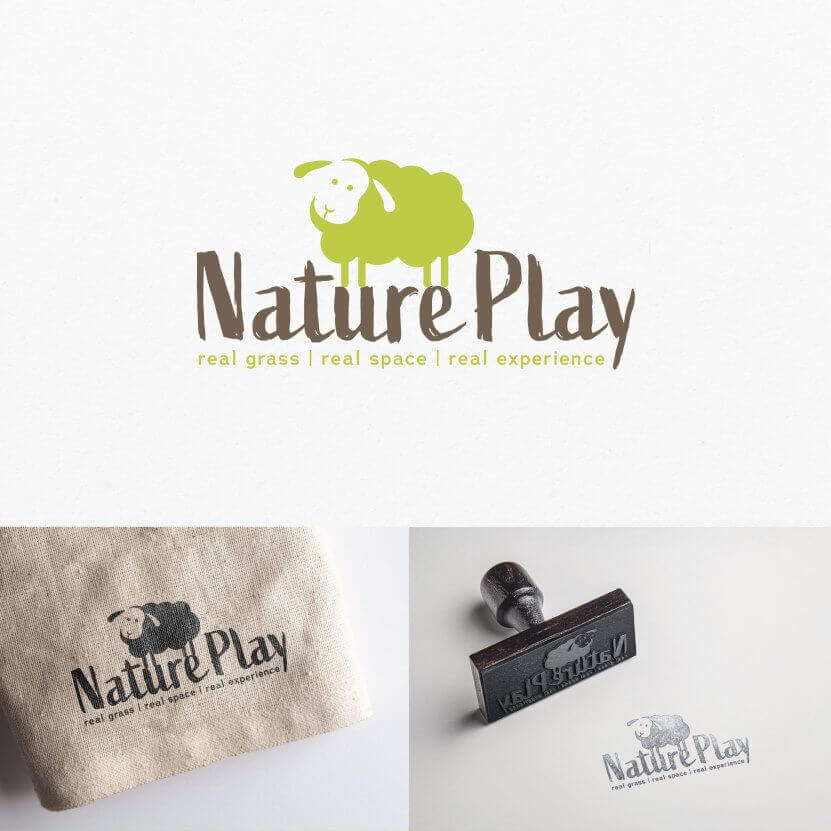 Nature Play logo design
